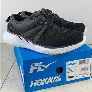 Hoka One One Tivra Running Shoes Black Size 9